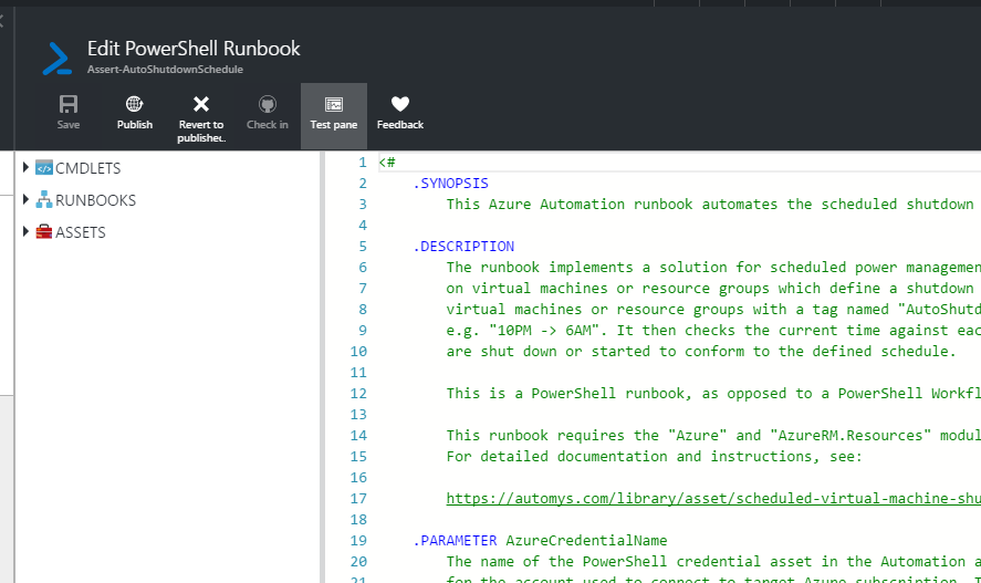 Azure Portal Screenshot