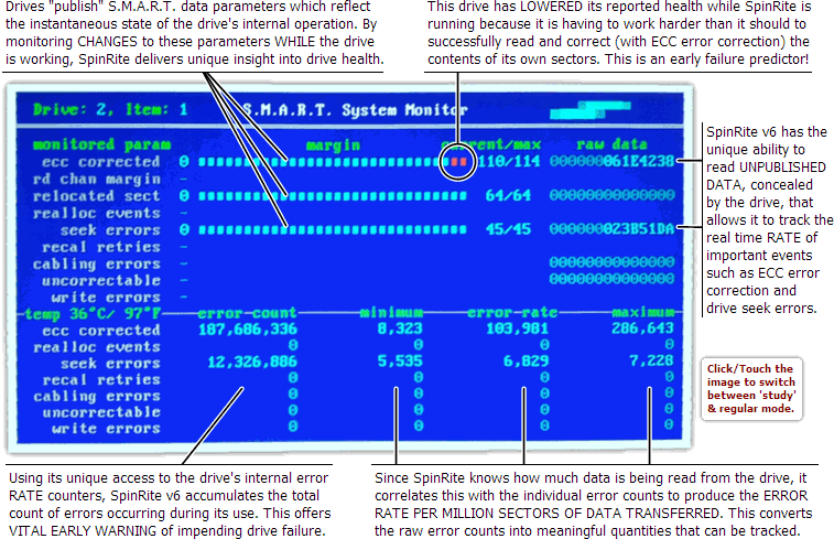 SpinRite Screenshot