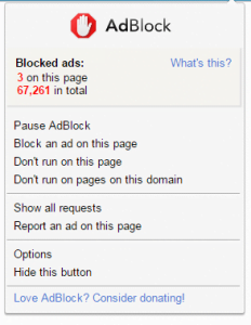 AdBlock for Google Chrome