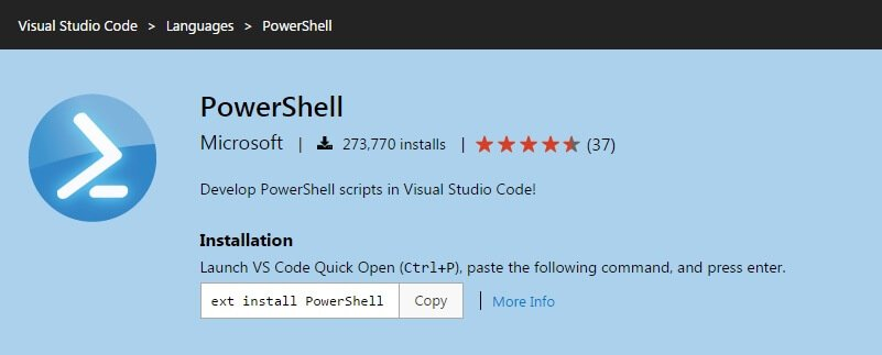 PowerShell Extension