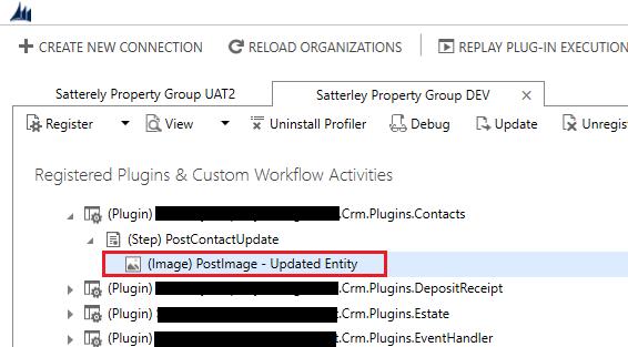 CRM Plugin Registration utility