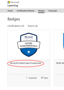 Microsoft Learn Portal Screenshot