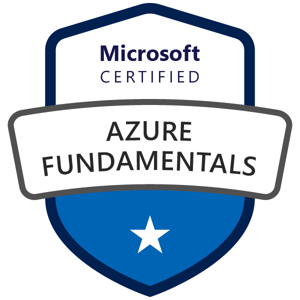 Azure AZ-900 Badge