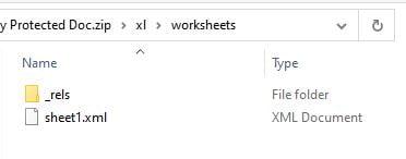 File System Screenshot