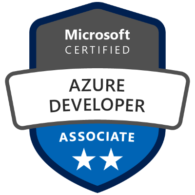 AZ-204 Exam Badge